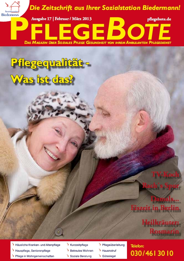 PflegeBote #17 (Februar / März 2013) - Ausgabe Berlin-Mitte