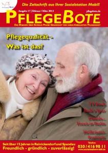 PflegeBote #17 (Februar / März 2013) - Ausgabe Berlin-Nord